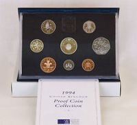 1994 British Proof Set of Coins. Ideal BIRTHDAY or ANNIVERSARY  Gift